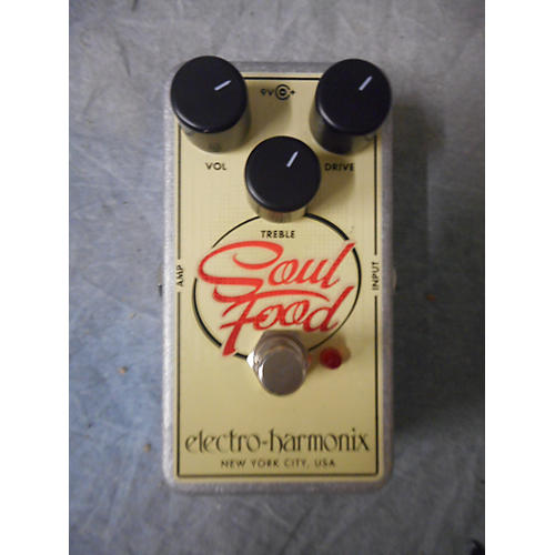 Electro-Harmonix Soul Food Overdrive Effect Pedal-thumbnail