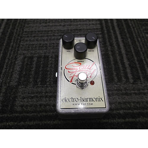 Electro-Harmonix Soul Food Overdrive SILVER AND WHITE Effect Pedal