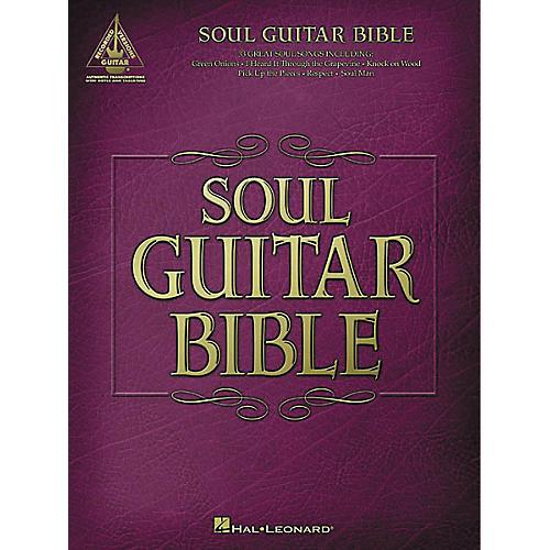 Hal Leonard Soul Guitar Bible Guitar Tab Book