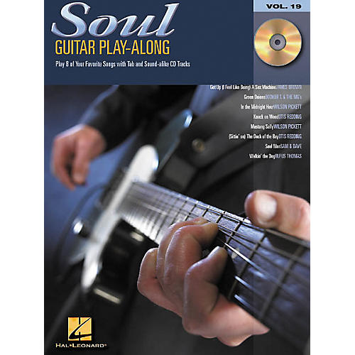 Hal Leonard Soul Guitar Play-Along Series Book with CD-thumbnail