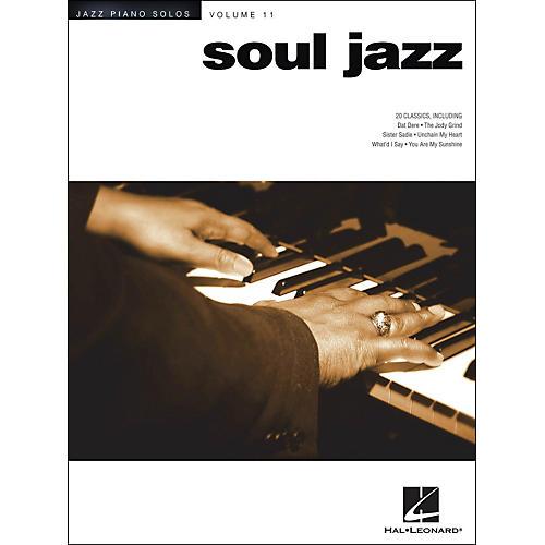 Hal Leonard Soul Jazz - Jazz Piano Solos Series Volume 11-thumbnail