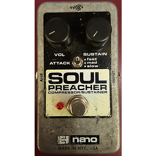 Electro-Harmonix Soul Preacher Nano Compressor / Sustainer Effect Pedal
