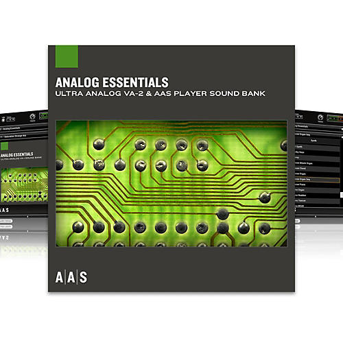 Applied Acoustics Systems Sound Bank Series Ultra Analog VA-2 - Analog Essentials-thumbnail