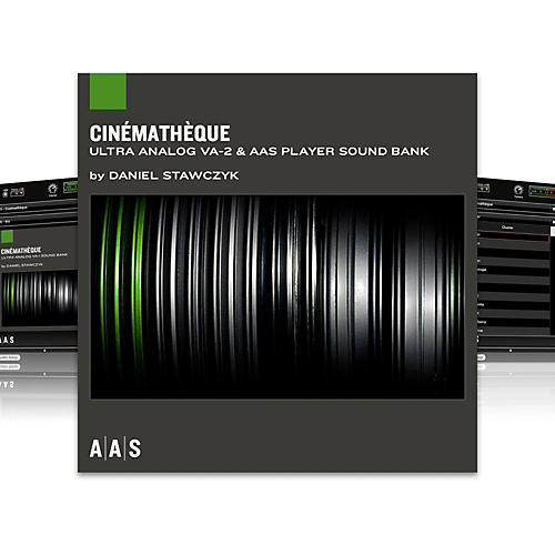 AAS Sound Bank Series Ultra Analog VA-2 - Cinematheque