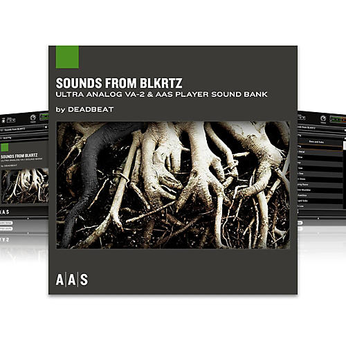 AAS Sound Bank Series Ultra Analog VA-2 - Sounds from BLKRTZ