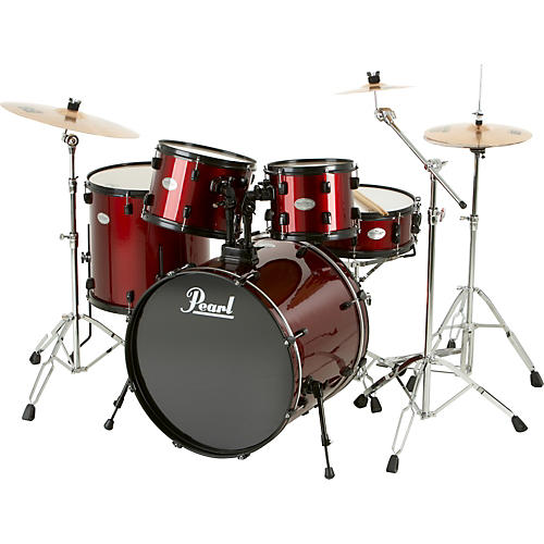 Pearl Sound Check 5-Piece Drum Set with Sabian Cymbals
