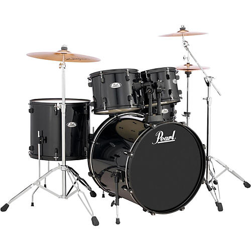 Pearl Sound Check 5-Piece Shell Pack Jet Black