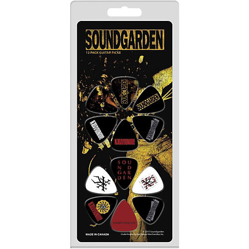 Perri's Sound Garden Medium Gauge Guitar Pick  12 Pack