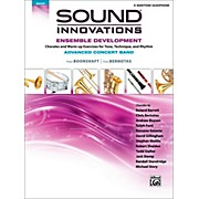 Alfred Sound Innovations Concert Band Ensemble Development Advanced Baritone Saxophone