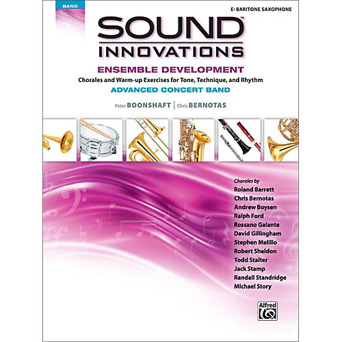 Alfred Sound Innovations Concert Band Ensemble Development Advanced Baritone Saxophone-thumbnail