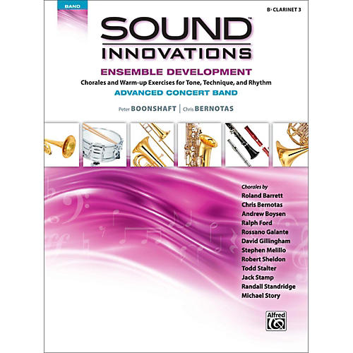 Alfred Sound Innovations Concert Band Ensemble Development Advanced Clarinet 3-thumbnail