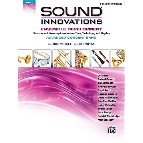 Alfred Sound Innovations Concert Band Ensemble Development Advanced Tenor Saxophone-thumbnail