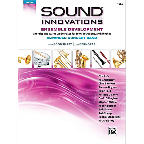 Alfred Sound Innovations Concert Band Ensemble Development Advanced Tuba-thumbnail