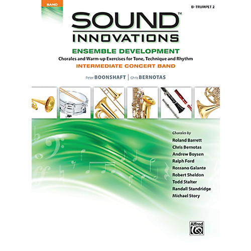 Alfred Sound Innovations Concert Band Ensemble Development B Flat Trumpet 2 Book-thumbnail