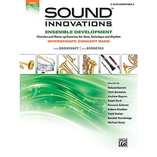 Alfred Sound Innovations Concert Band Ensemble Development E Flat Alto Sax 2 Book-thumbnail