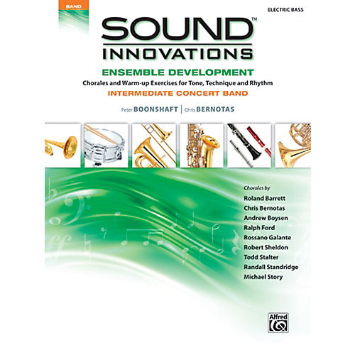 Alfred Sound Innovations Concert Band Ensemble Development Electric Bass Book-thumbnail