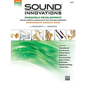 Alfred Sound Innovations Concert Band Ensemble Development Flute Book by Alfred