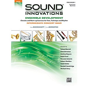Alfred Sound Innovations Concert Band Ensemble Development Percussion 1 Boo...