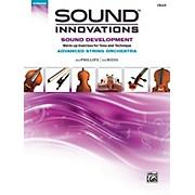 Alfred Sound Innovations String Orchestra Sound Development Advanced Cello Book