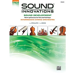Alfred Sound Innovations String Orchestra Sound Development Violin Book by Alfred