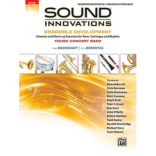 Alfred Sound Innovations for Concert Band - Ensemble Development for Young Concert Band Trombone/Baritone/Bassoon/String Bass-thumbnail