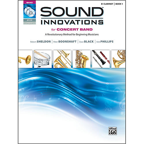 Alfred Sound Innovations for Concert Band Book 1 B-Flat Clarinet Book CD/ DVD-thumbnail