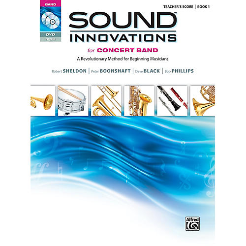 Alfred Sound Innovations for Concert Band, Book 1 Conductor's Score-thumbnail