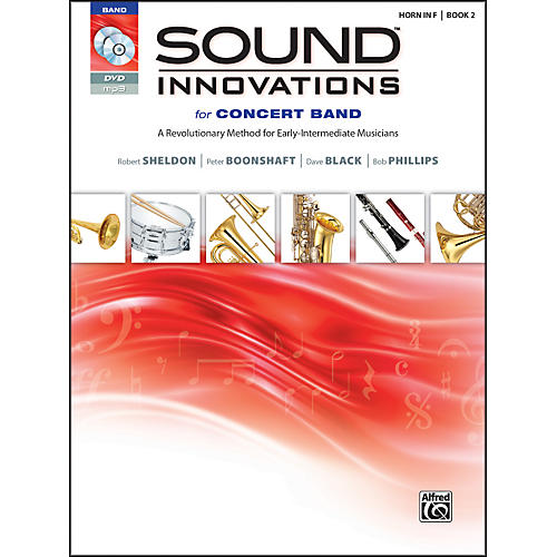 Alfred Sound Innovations for Concert Band Book 2 Horn in F Book CD/DVD-thumbnail