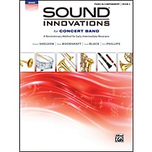 Alfred Sound Innovations for Concert Band Book 2 Piano Acc. Book