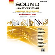 BELWIN Sound Innovations for Concert Band: Ensemble Development for Young Concert Band Conductor's Score