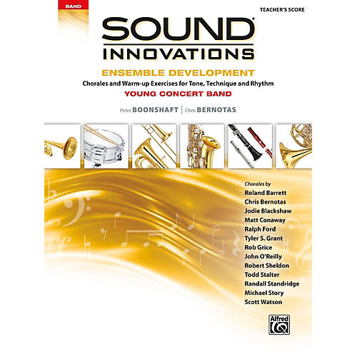 Alfred Sound Innovations for Concert Band: Ensemble Development for Young Concert Band Conductor's Score-thumbnail