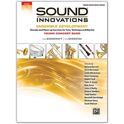 Alfred Sound Innovations for Concert Band: Ensemble Development for Young Concert Band Snare Drum/Bass Drum-thumbnail