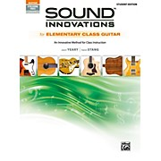 BELWIN Sound Innovations for Elementary Class Guitar Student Edition Book & Online Audio & Video
