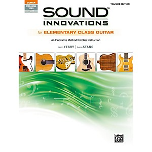 Alfred Sound Innovations for Elementary Class Guitar Teacher Edition Book &...