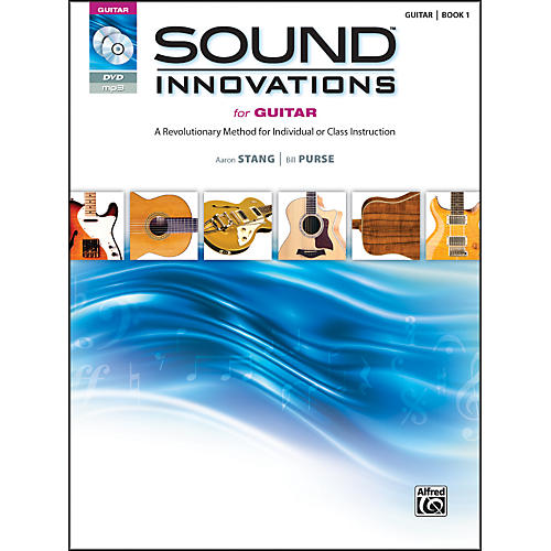 Alfred Sound Innovations for Guitar Book, DVD & MP3 Recordings