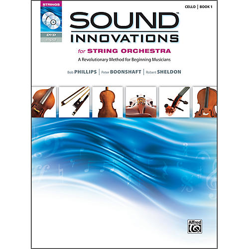 Alfred Sound Innovations for String Orchestra Book 1 Cello Book CD/ DVD-thumbnail