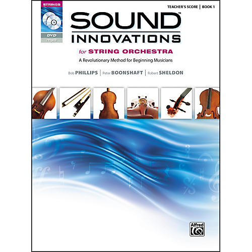 Alfred Sound Innovations for String Orchestra Book 1 Conductor's Score CD/ DVD-thumbnail