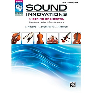 Alfred Sound Innovations for String Orchestra Book 1 Conductor's Score by Alfred