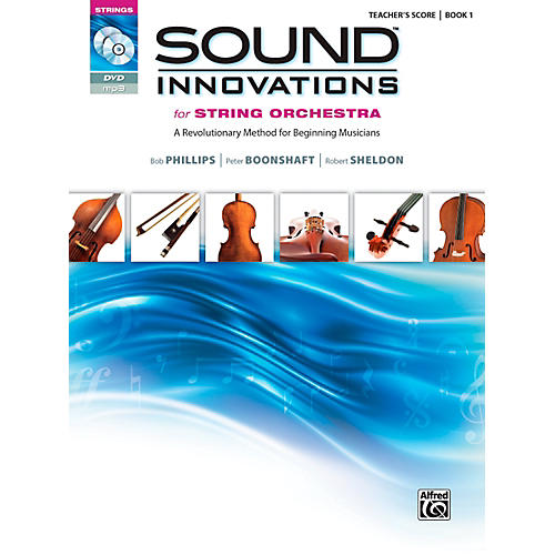 Alfred Sound Innovations for String Orchestra Book 1 Conductor's Score-thumbnail