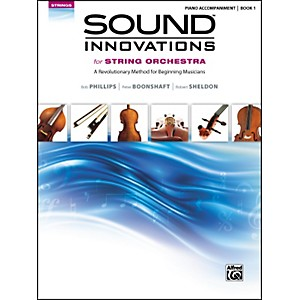 Alfred Sound Innovations for String Orchestra Book 1 Piano Accom. Book by Alfred