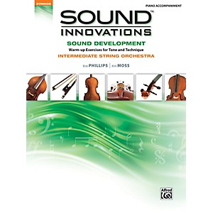 Alfred Sound Innovations for String Orchestra Sound Development Piano Accom... by Alfred