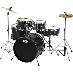 Sound Percussion 5-Piece Junior Drum Set with Cymbals