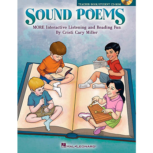 Hal Leonard Sound Poems - More Interactive Listening and Reading Fun Book/CD-ROM