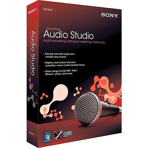 Sony Sound forge Audio Studio 10-thumbnail