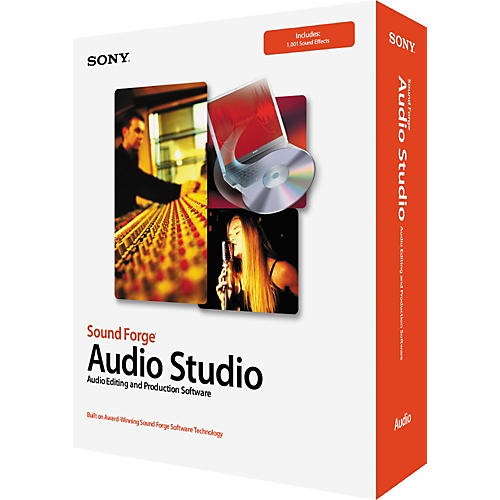 Sony Sound forge Audio Studio 7