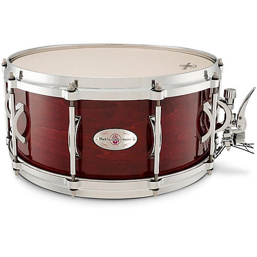 Black Swamp Percussion SoundArt Maple Shell Snare Drum Cherry Rosewood 14 x 6.5 in.
