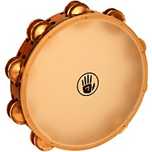 """Black Swamp Percussion SoundArt Series 10"""" Tambourine Double Row with Remo Head"""