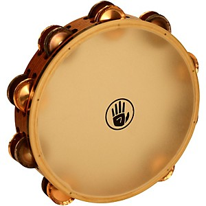 Black Swamp Percussion SoundArt Series 10 inch Tambourine Double Row with Remo ... by Black Swamp Percussion