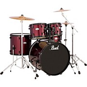 SoundCheck 5-Piece Drum Set Red Wine