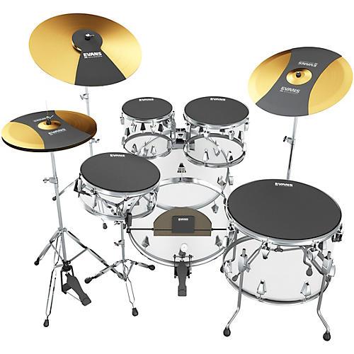 open box evans soundoff full box set fusion guitar center. Black Bedroom Furniture Sets. Home Design Ideas